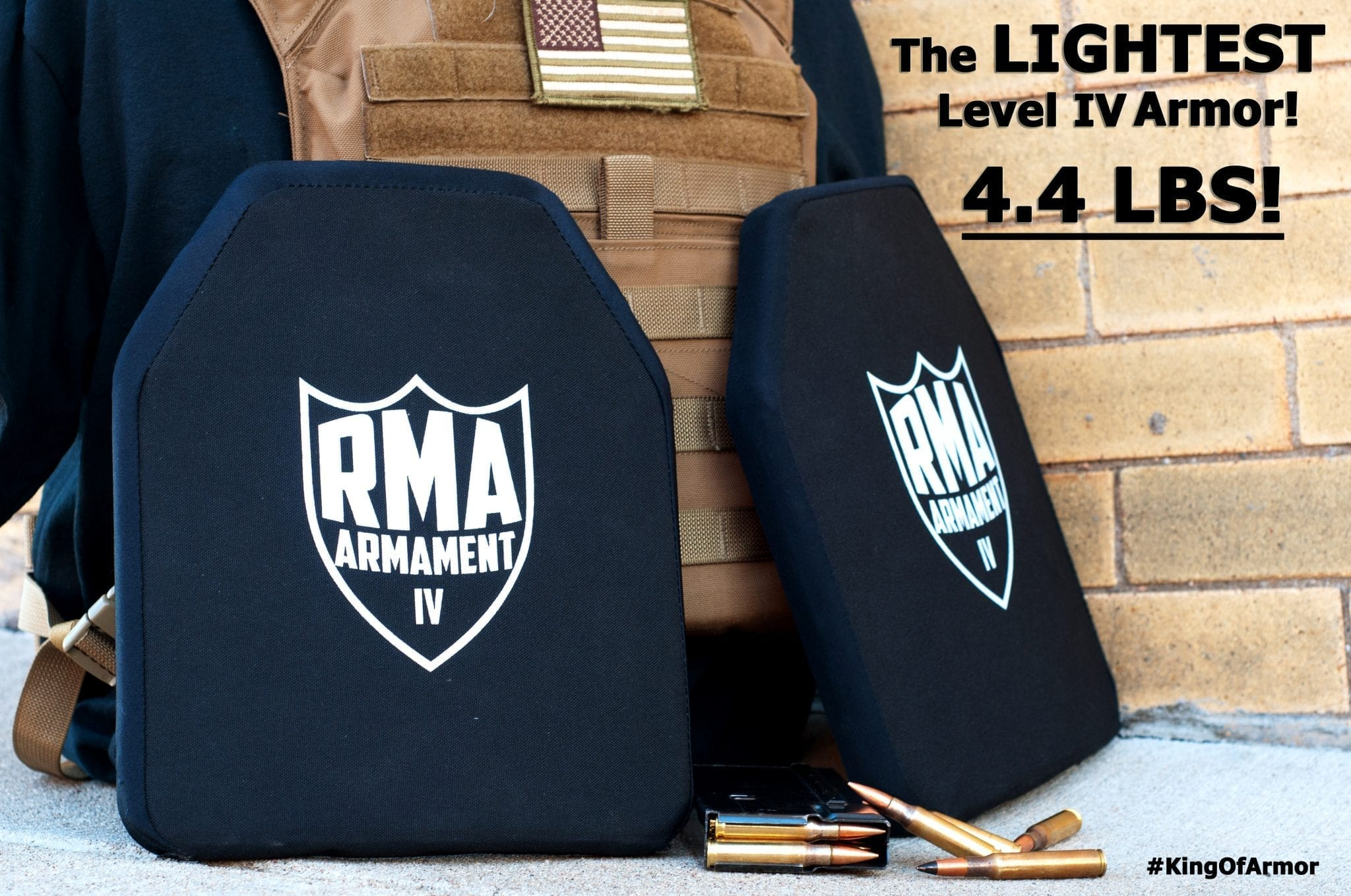Rma Introduces 4 4 Lbs Level Iv Hard Armor Plate Rma